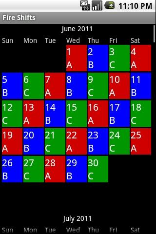 4 On 4 Off Shift Calendar App Kleobeachfixco