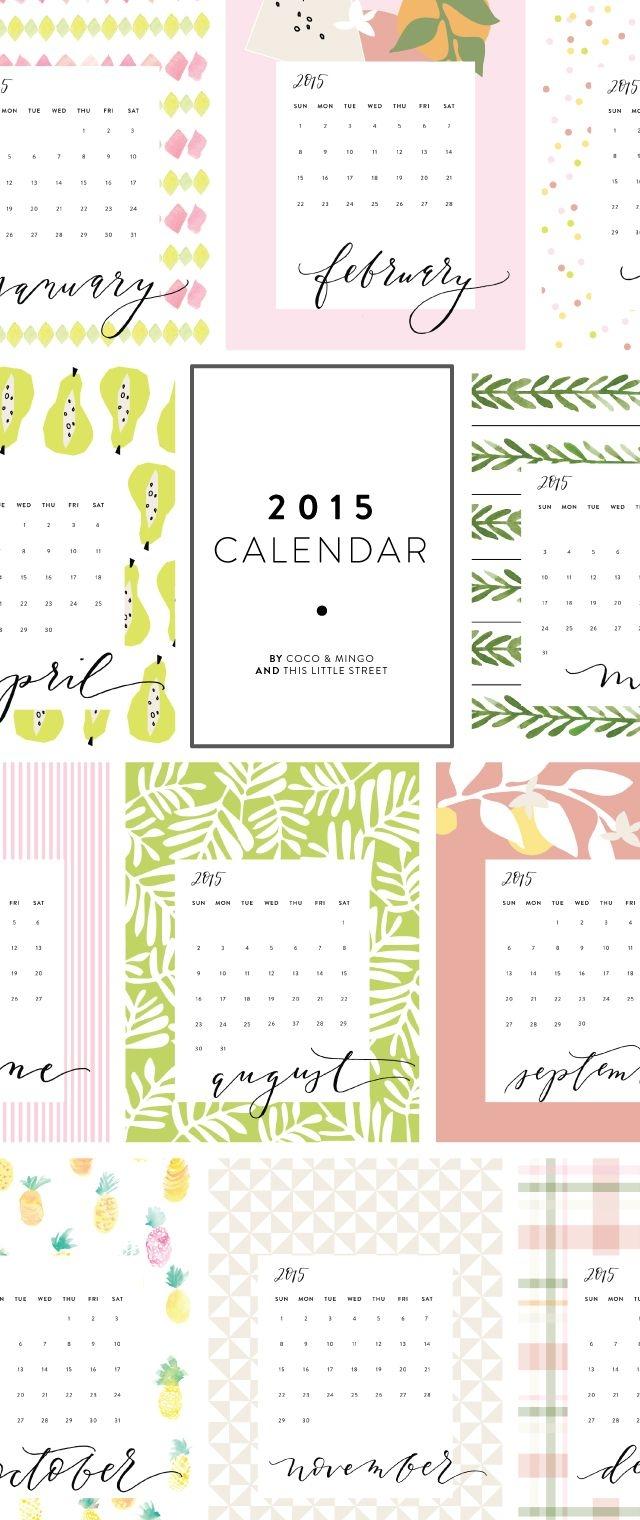 40 Best 2018 Calendars 2017 Calendars 2016 Calendars Images On