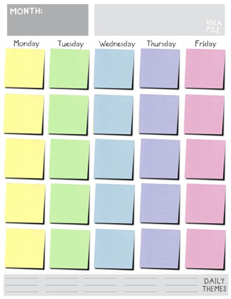 Blank Calendar Templates Solarfmtk  Xjb