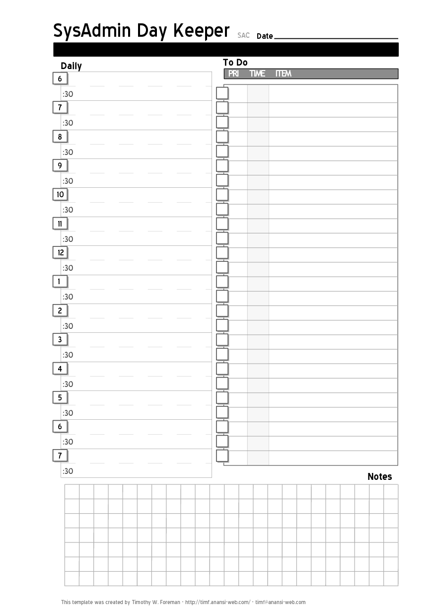 Daily Project Organizer Templates Free Free Daily Planner Calendar3abry