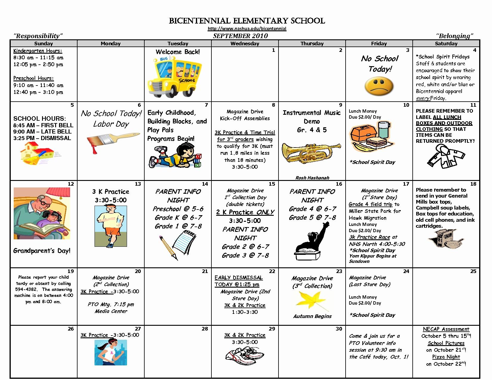 Elementary Calendar Template New Teacher Calendar Template Template3abry