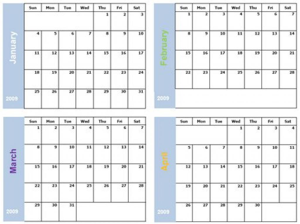 Free 6 Month Calendar Template 6 Month Calendar Printable 6 Month
