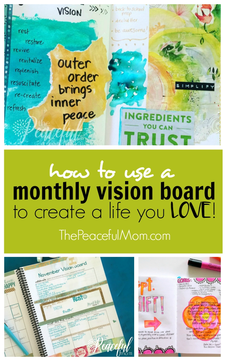 How To Make A Vision Board That Works Peek Into Mine The