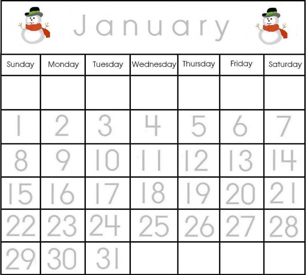 Preschool Printables Calendar Numbers Printable Calendar Templates3abry
