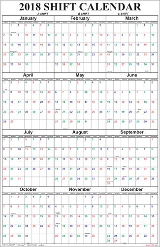 Shift Calendars