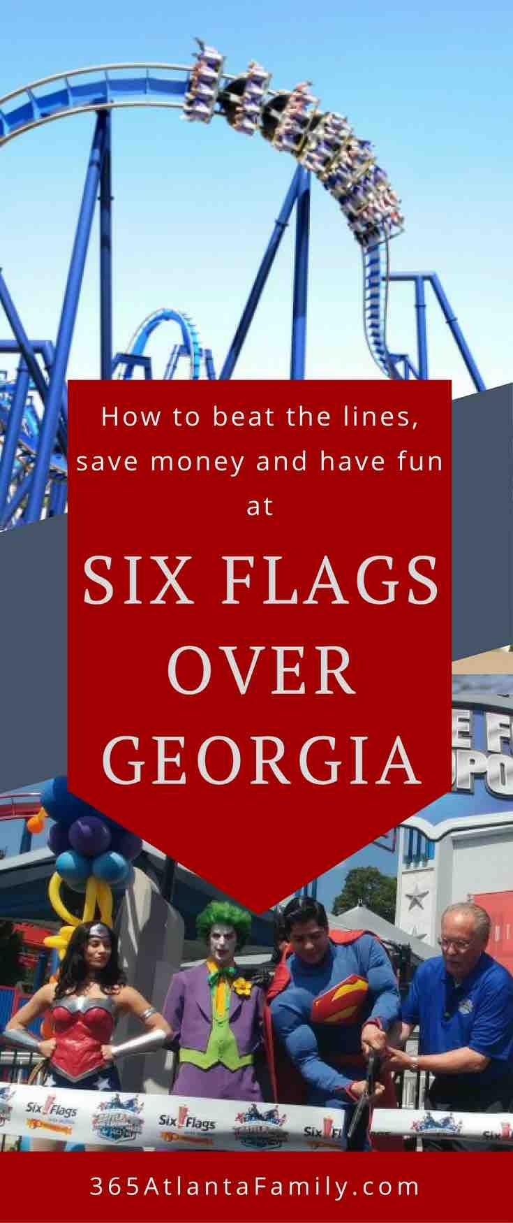 Six Flags Over Georgia Beat The Lines Discounts More  Xjb