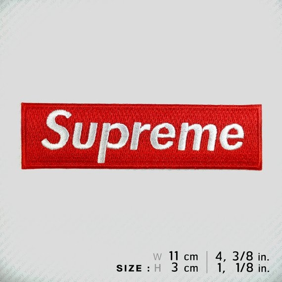 Supreme Embroidered Patch Iron On Or Sew Winner Racing Diy