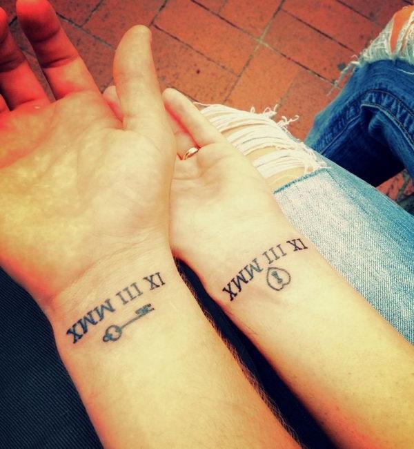 25 Amazingly Hot Roman Numeral Tattoos Inkdoneright