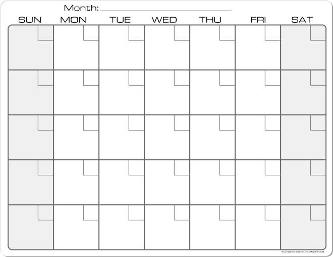 8 12 X 11 Calendar Template Archives Aztec Online