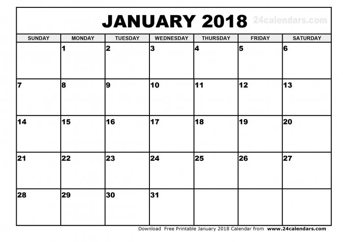 Aol Printable Calendar 2018 Calendar Printable Template