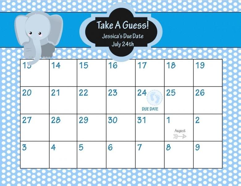 Ba Pool Calendar Ba Due Date Calendar Calendar Pinterest