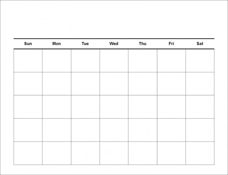 Blank Calendars To Print Work Week Calendar 2015 Paso Evolist Co
