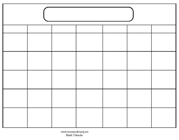 Blank Fill In Calendar Goalgoodwinmetalsco