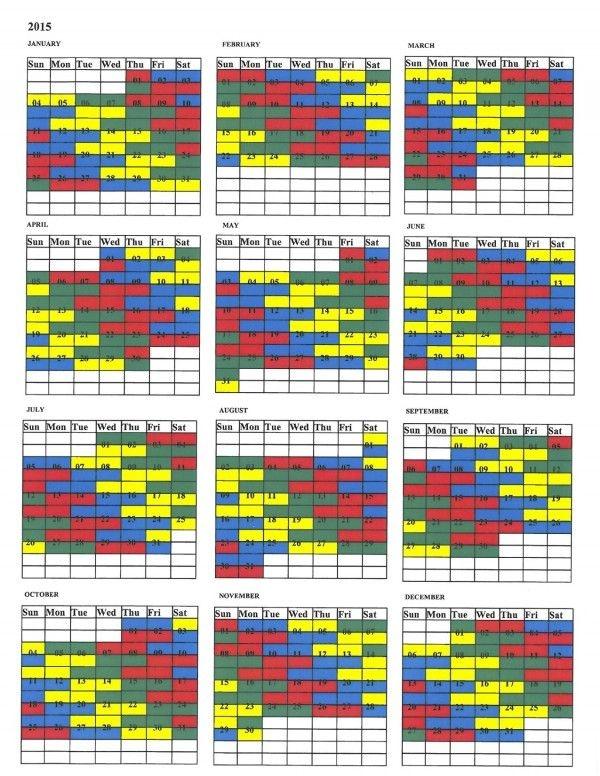 Firefighters Shift Calendar 2015 Yelommyphonecompanyco