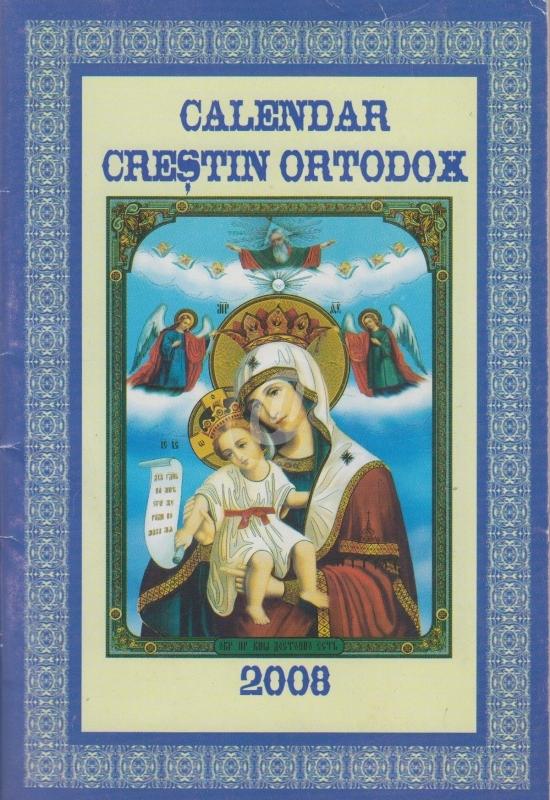 N Stoc Calendar Crestin Ortodox 2008 De Colectiv 200 Lei
