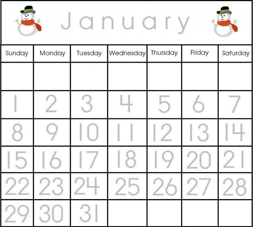 Preschool Calendar Printables With Numbers472706 Myscres