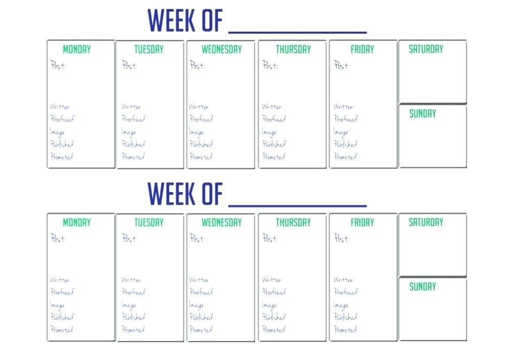 Printable Weekly Calendar Sheets Template 2016 Free Midcitywest