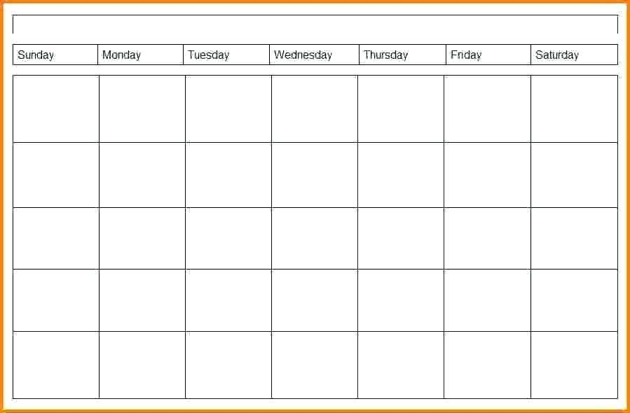 Weekly Calendars Template Techshopsavings