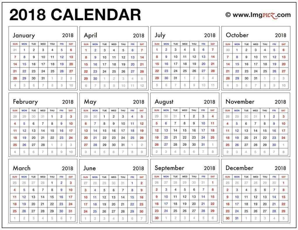 Year At A Glance Calendar Tomadaretodonateco
