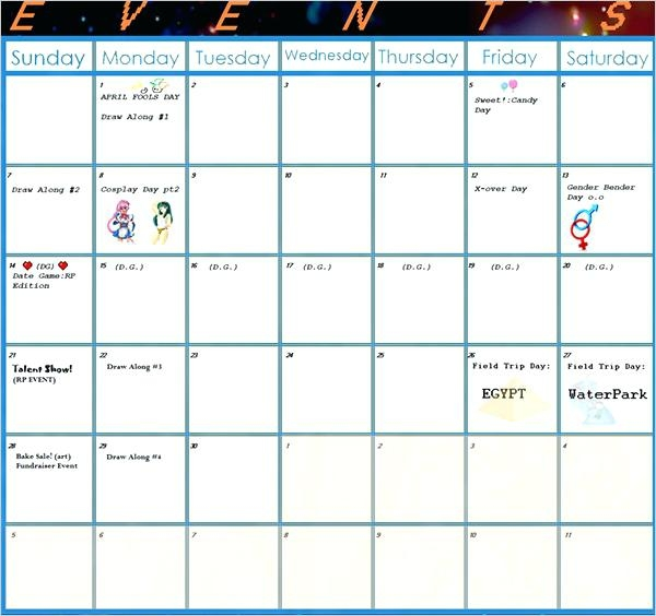 Activities Calendar Template Activity Monthly Ajshroyco