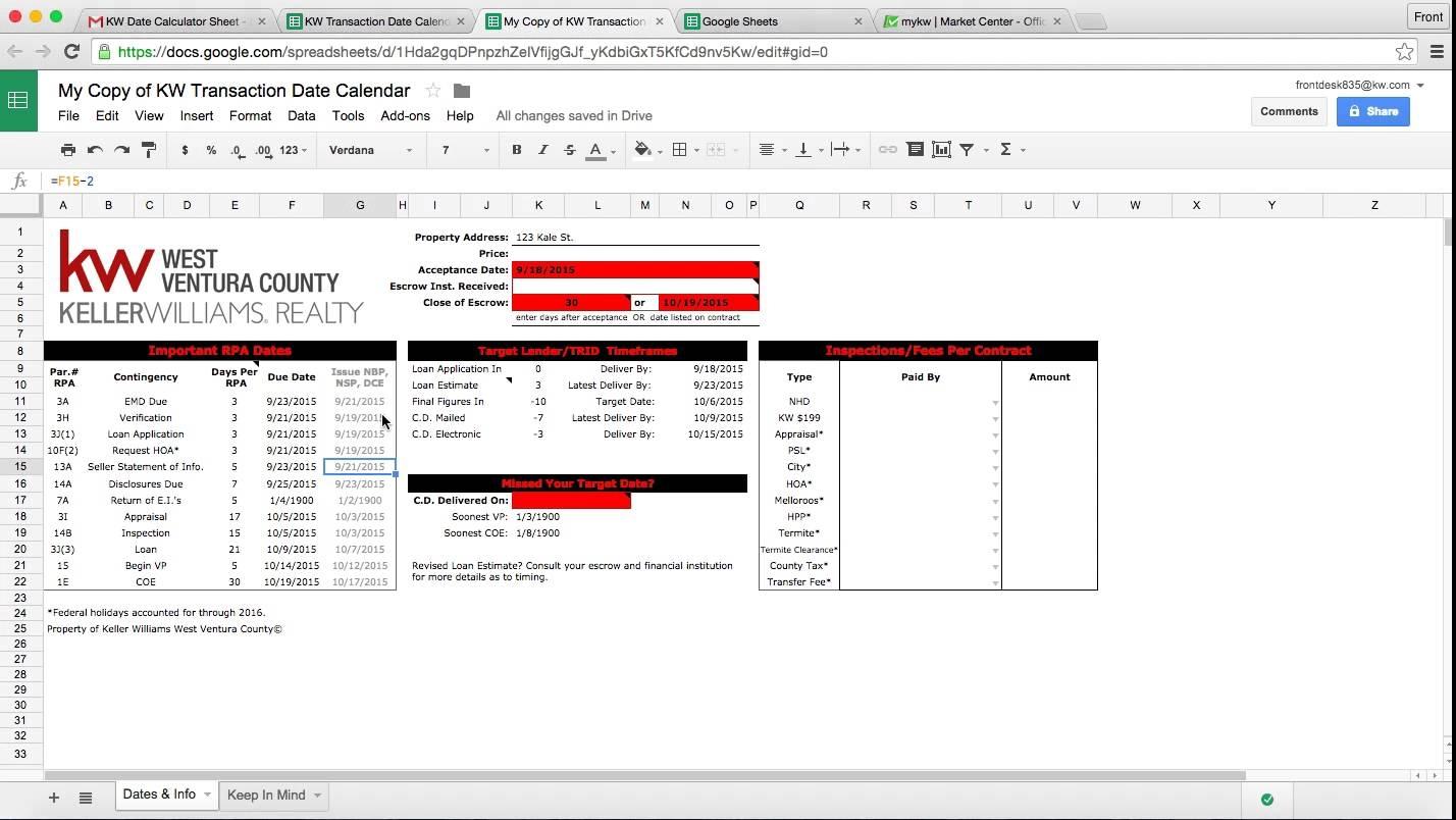 Trid Calendar Calculator Calendar Template 2018