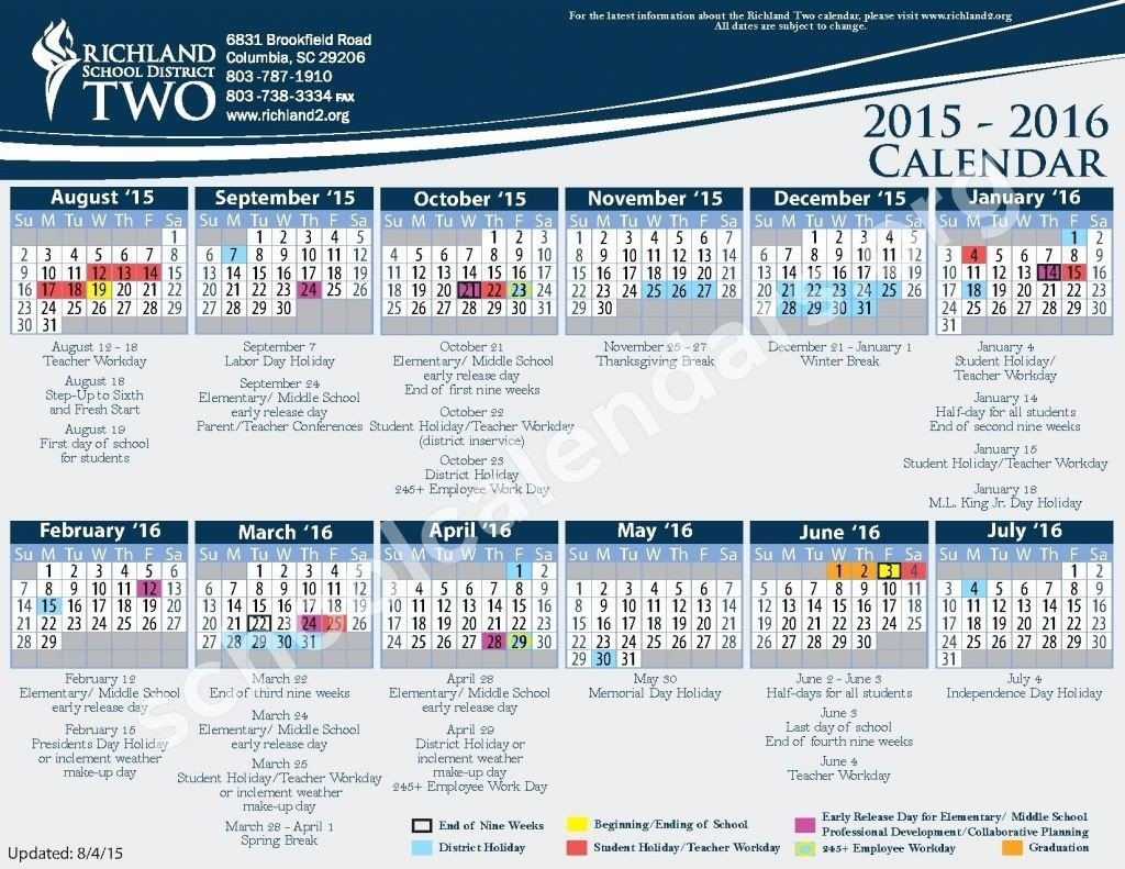 17 Richland 2 Calendar | Settoplinux Richland 2 Calendar 2019