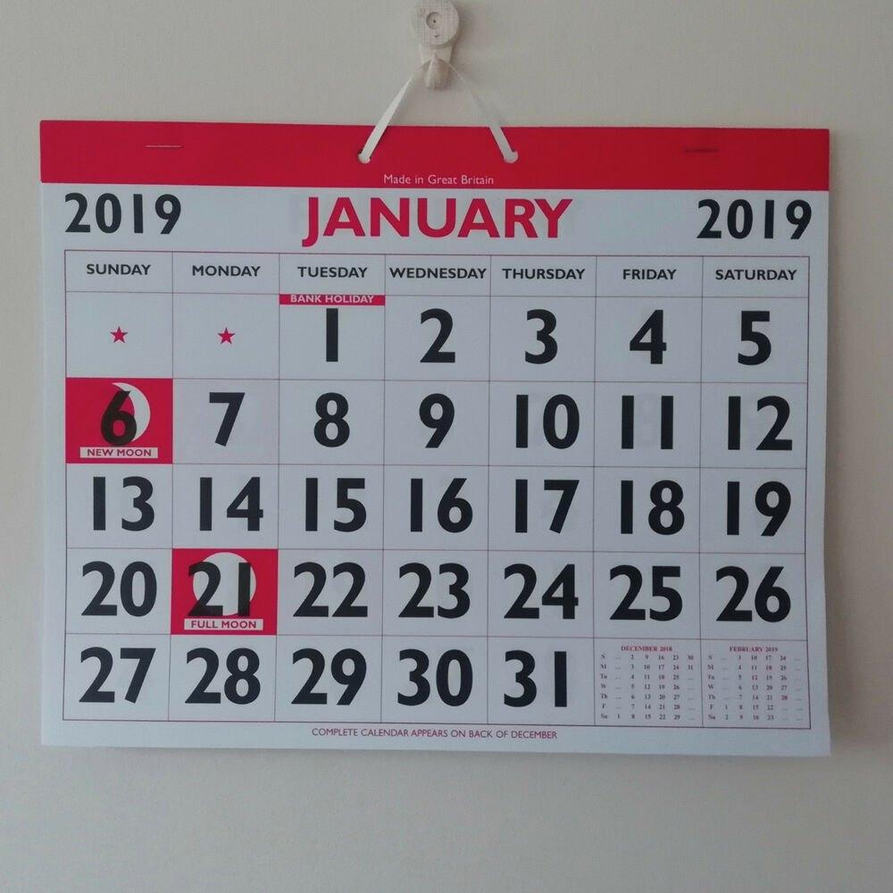 2019 Bold Clear Figure Calendar Cheap Calendars From 0.70P Month To Calendar 2019 Cheap