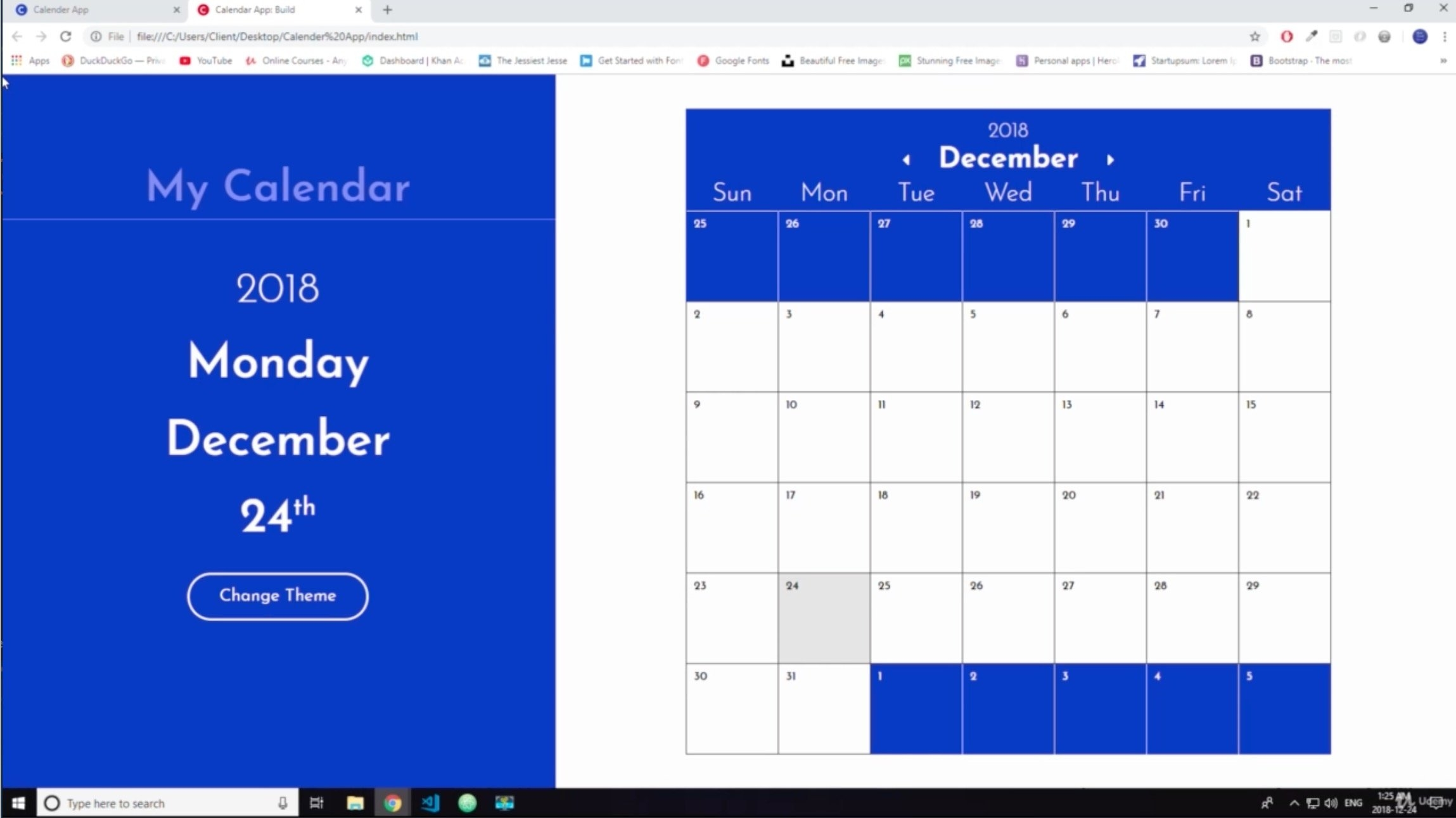 2019 Calendar App: Let's Build It! | Review Calendar 2019 App
