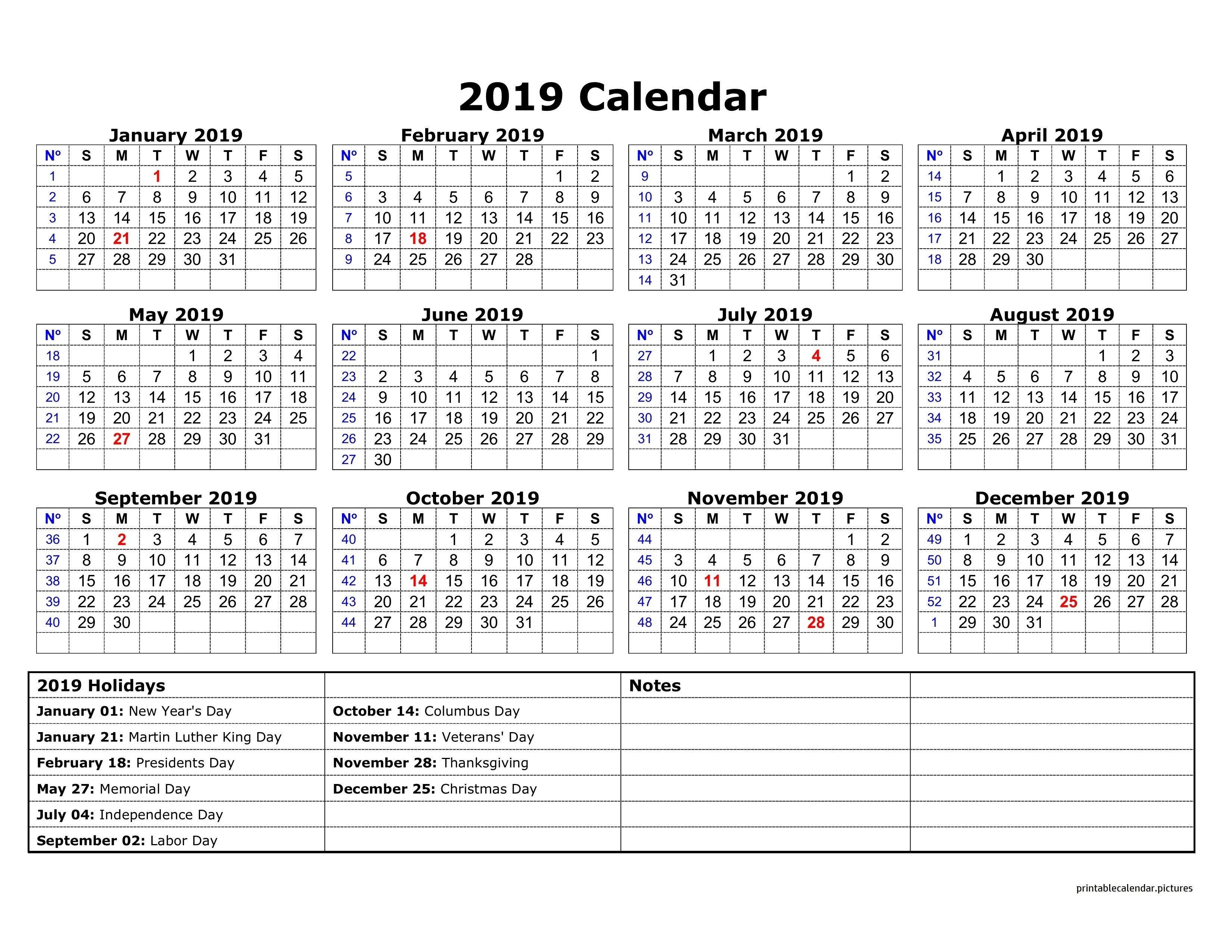 2019 Calendar Holidays Australia | 2019 Calendar Holidays Calendar Year 2019 Australia