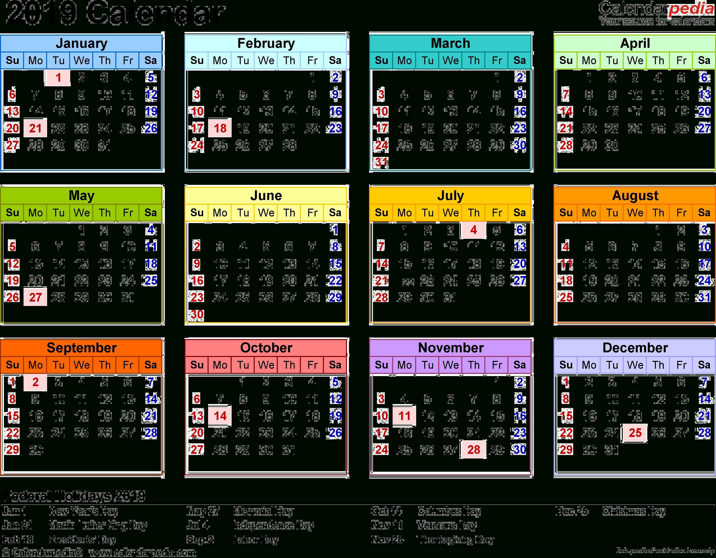 2019 Calendar Png Transparent Images | Png All Calendar 2019 Png