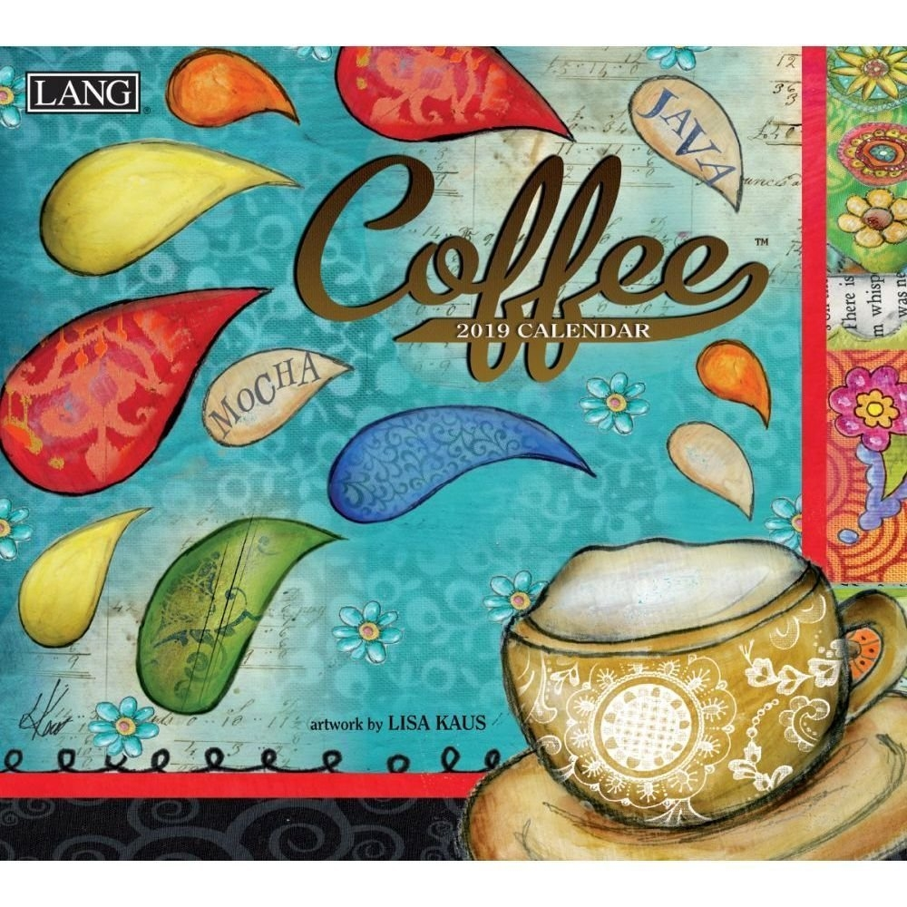 2019 Coffee Wall Calendar, Coffee & Tealang Companies Calendar 2019 Lang