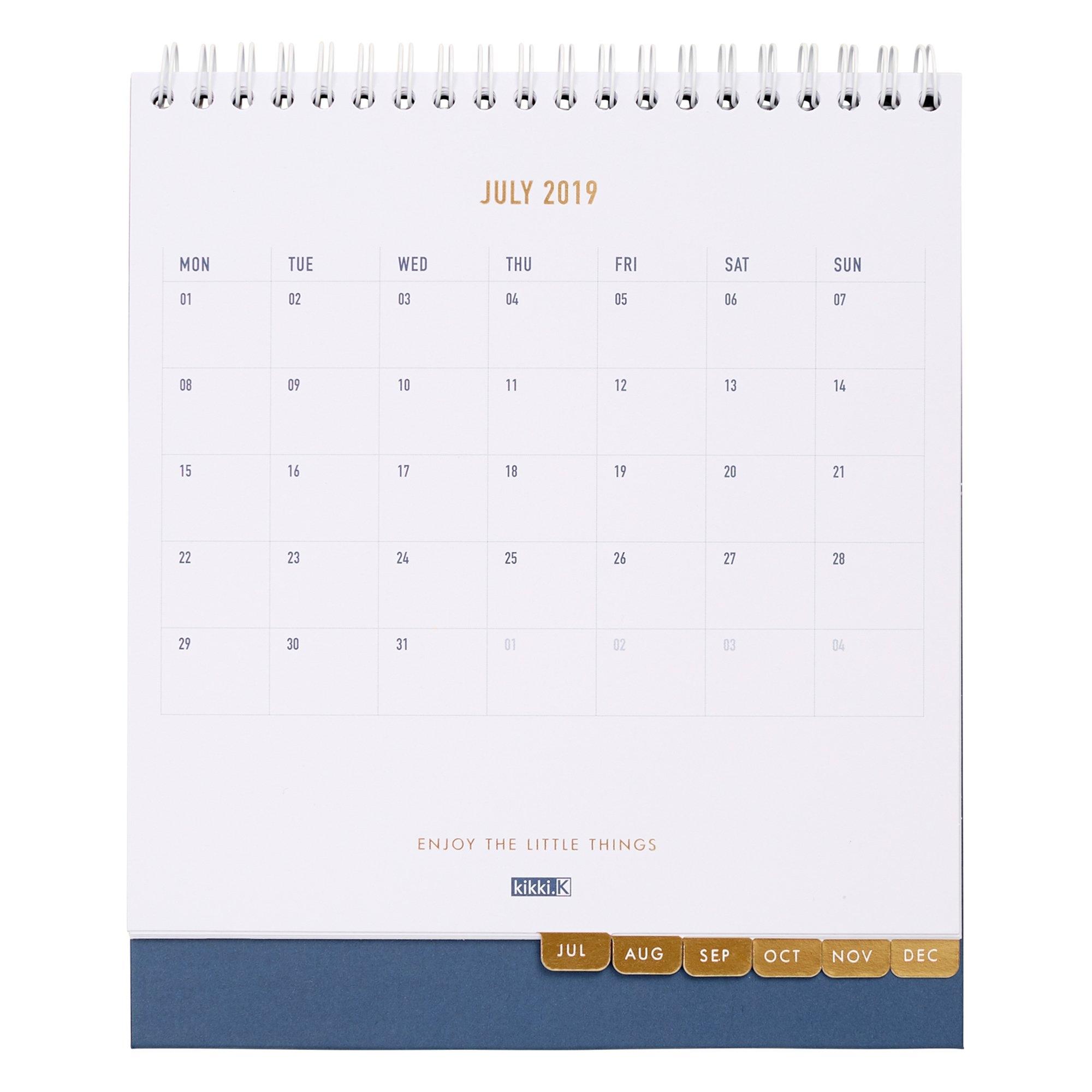2019 Desk Calendar Ms: Inspiration | Calendars | Kikki.k Kikki K Calendar 2019