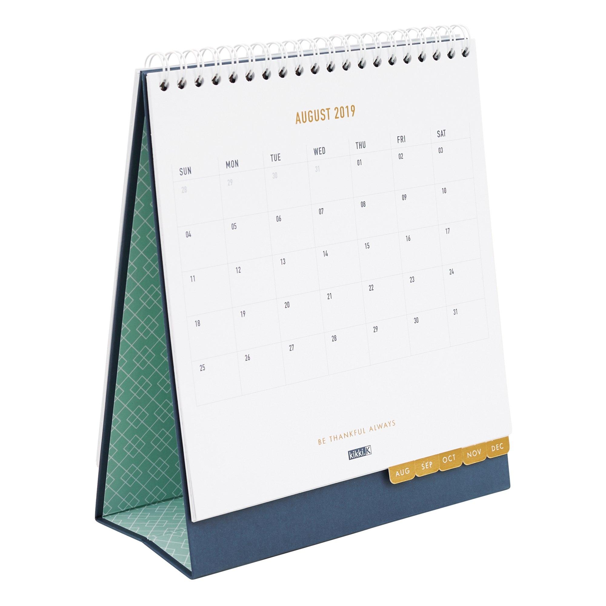 2019 Desk Calendar Ss: Inspiration | Calendars | Kikki.k Calendar 2019 Desk