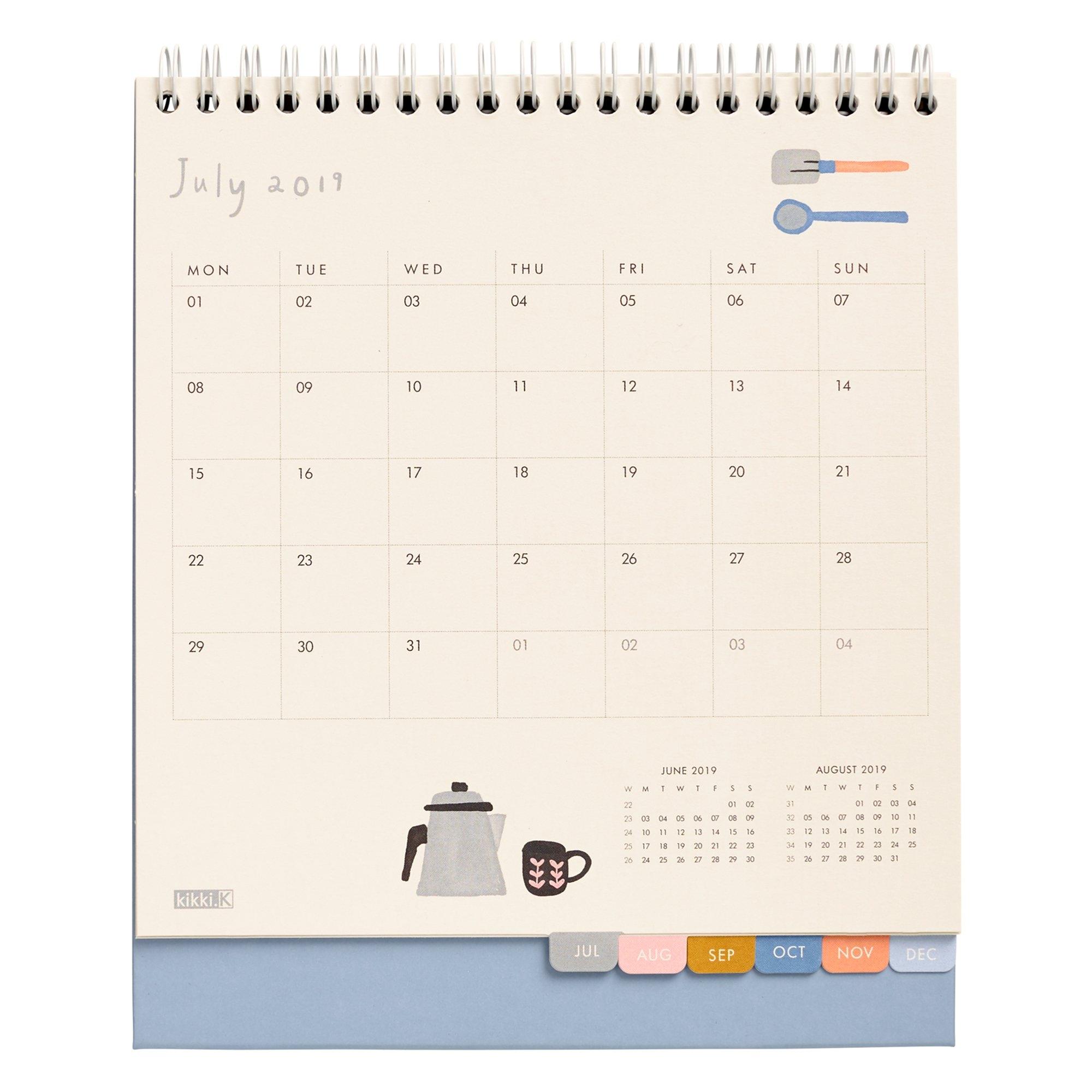 2019 Desk Calendar: Sweet | Calendars | Kikki.k Kikki K Calendar 2019