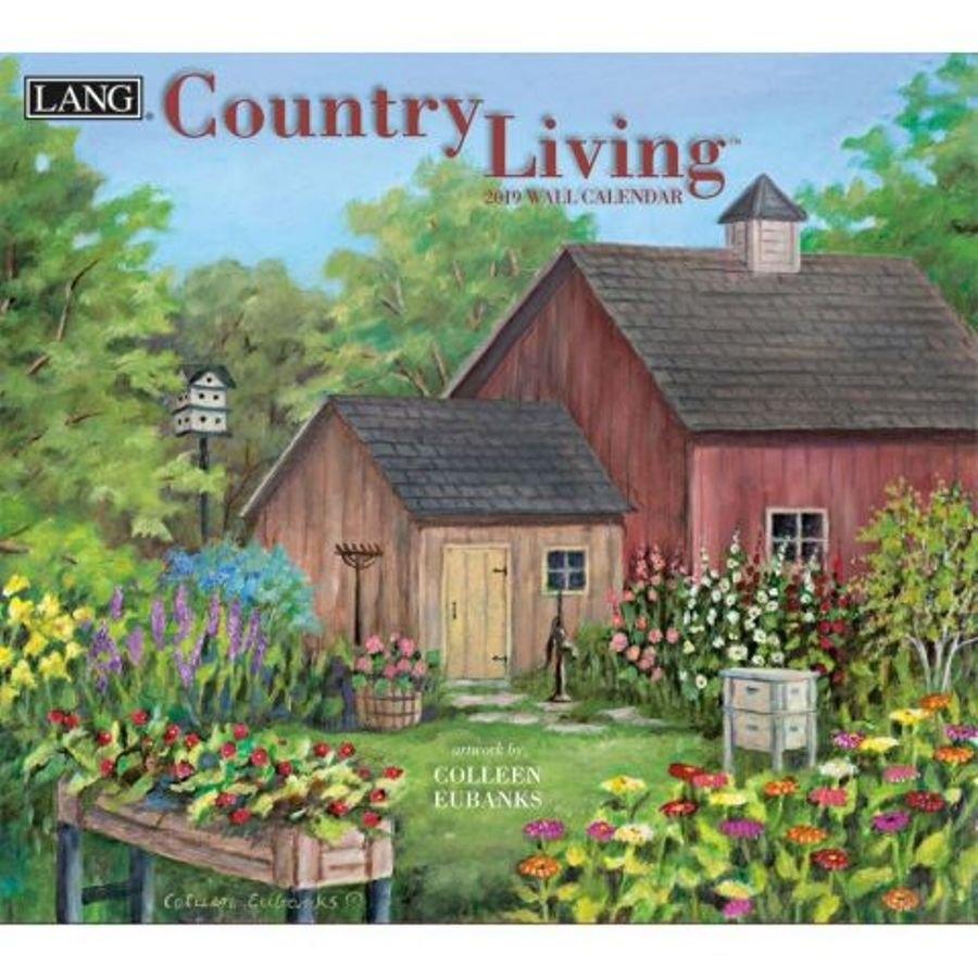 2019 Lang Calendar - Country Living - Artist Colleen Eubanks Calendar 2019 Lang