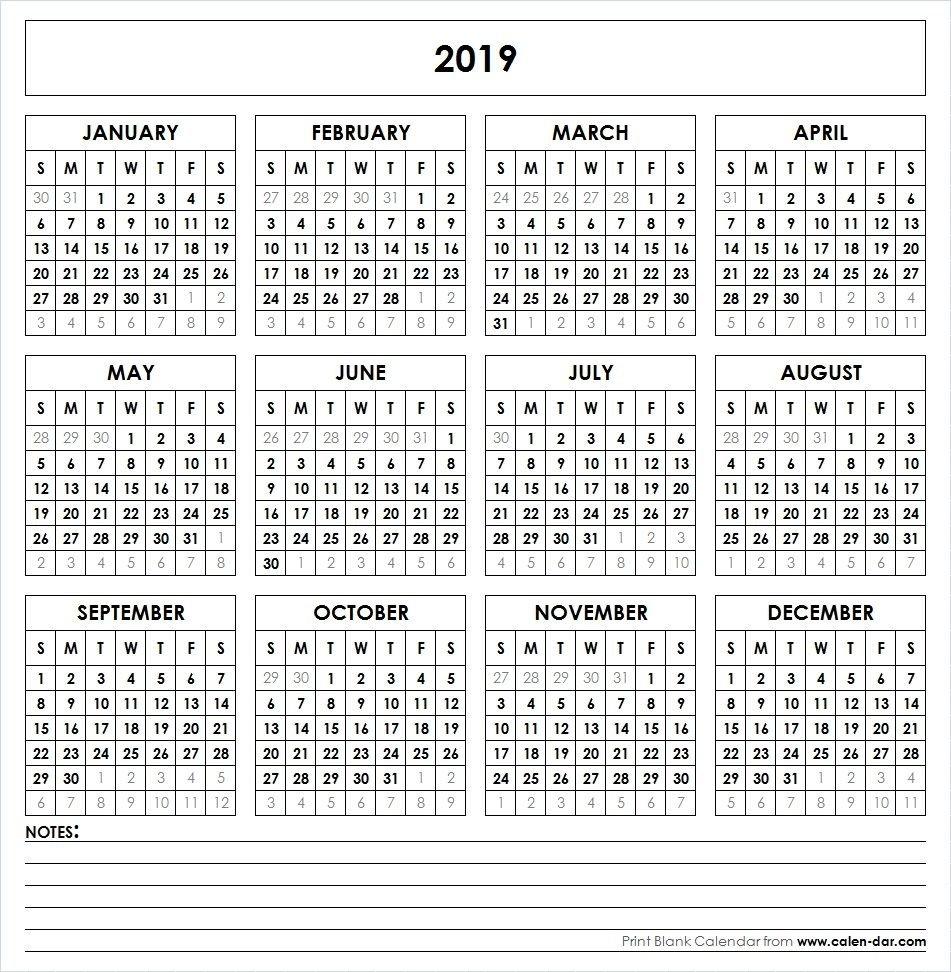 2019 Printable Calendar | Yearly Calendar | Pinterest | Calendar Calendar 2019 Microsoft