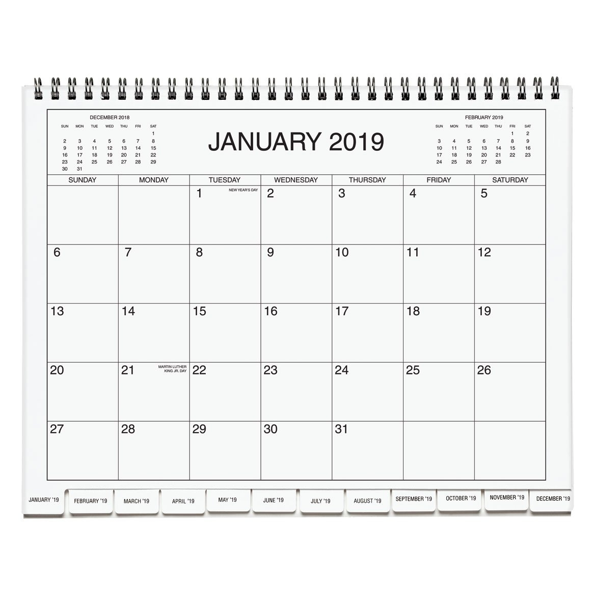 3 Year Calendar 2019-2021 - Three Year Calendar - Miles Kimball 3 Year Calendar 2019 To 2021