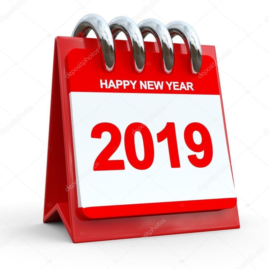 3D Red Calendar 2019 — Stock Photo © Yavuzunlu #38933981 Calendar 2019 3D