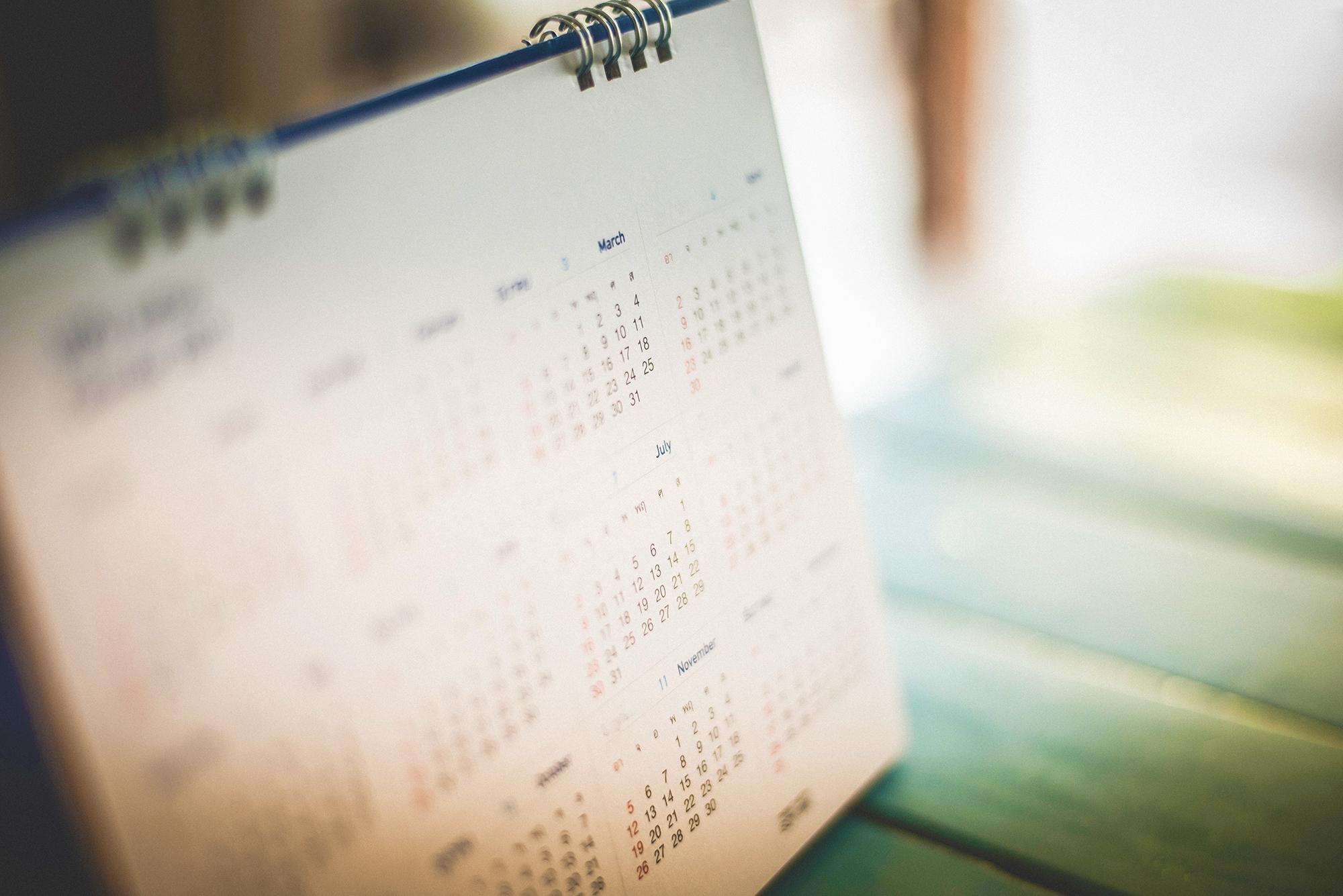 4-5-4 Calendar | Nrf 4-5-4 Calendar 2019