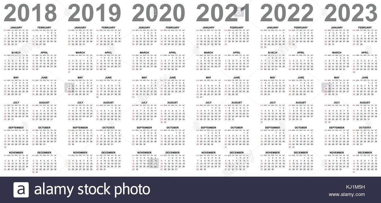 4 Year Calendar - Antal.expolicenciaslatam.co 4 Year Calendar 2019 To 2022 Printable