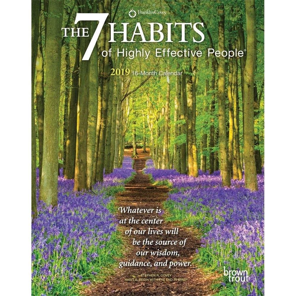 7 Habits 2019 Planner-Calendars-Books & Gifts - Foodsniffr Store 7 Habits Calendar 2019
