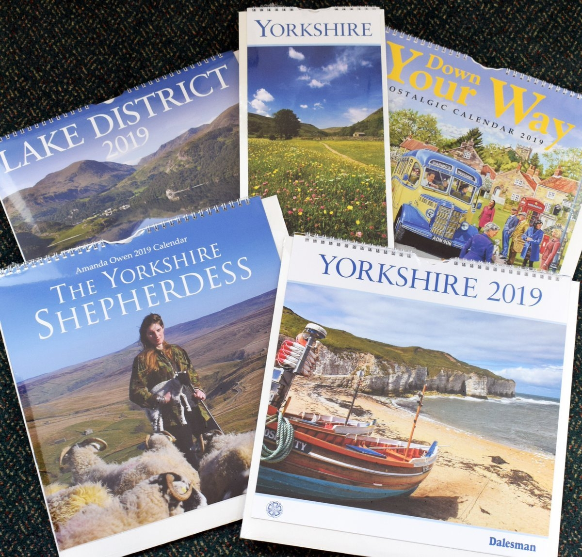 "Adrian Braddy On Twitter: ""look What's Just Arrived From The Calendar 2019 Yorkshire"