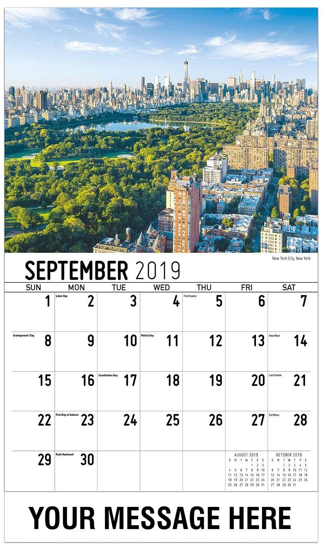 America Scenic Calendar | 65¢ Business Promo Advertising Calendar Calendar 2019 America