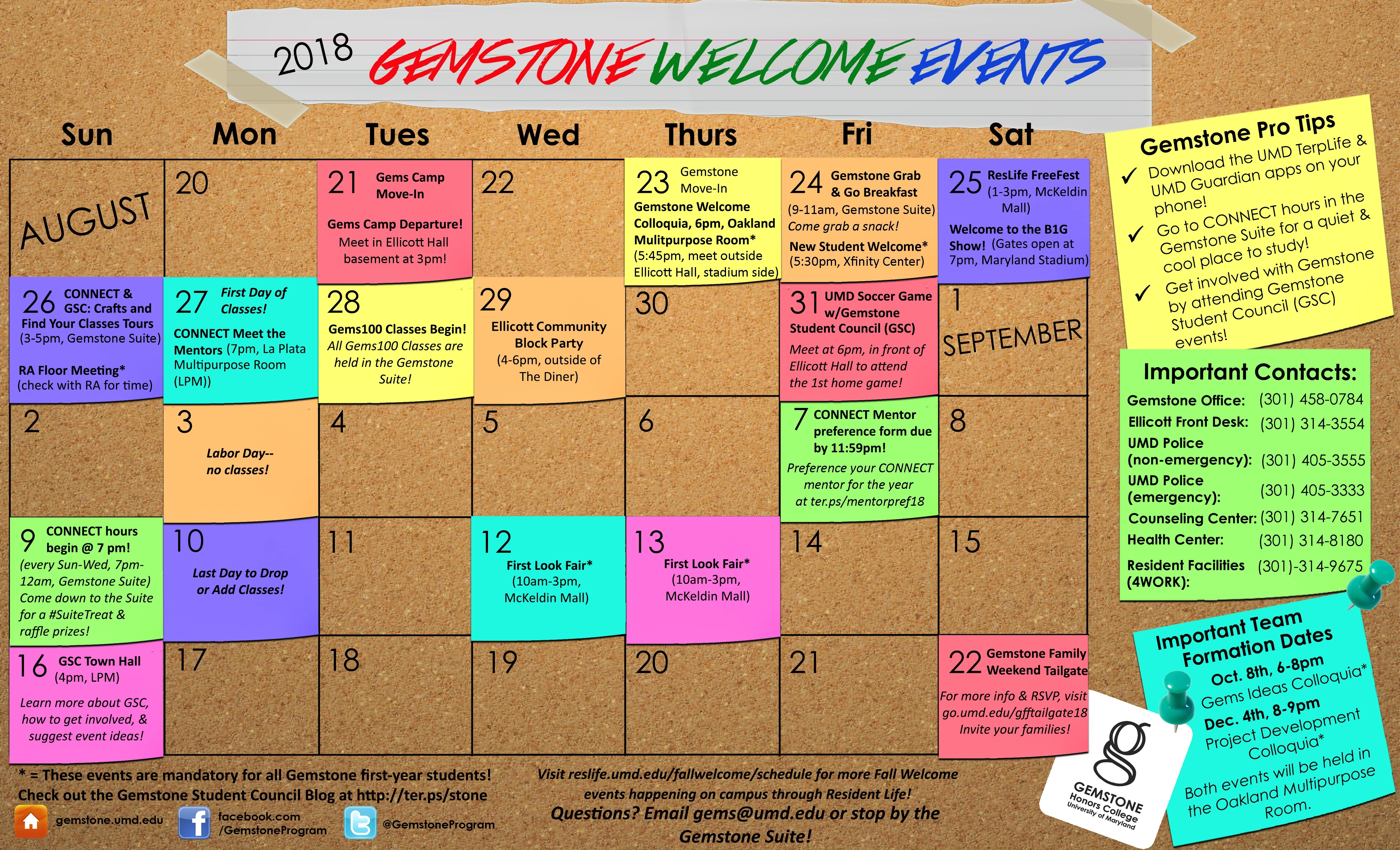 Ampp2018 2019 16 Umd Academic Calendar 2018 | Nicegalleries Calendar 2019 Umd