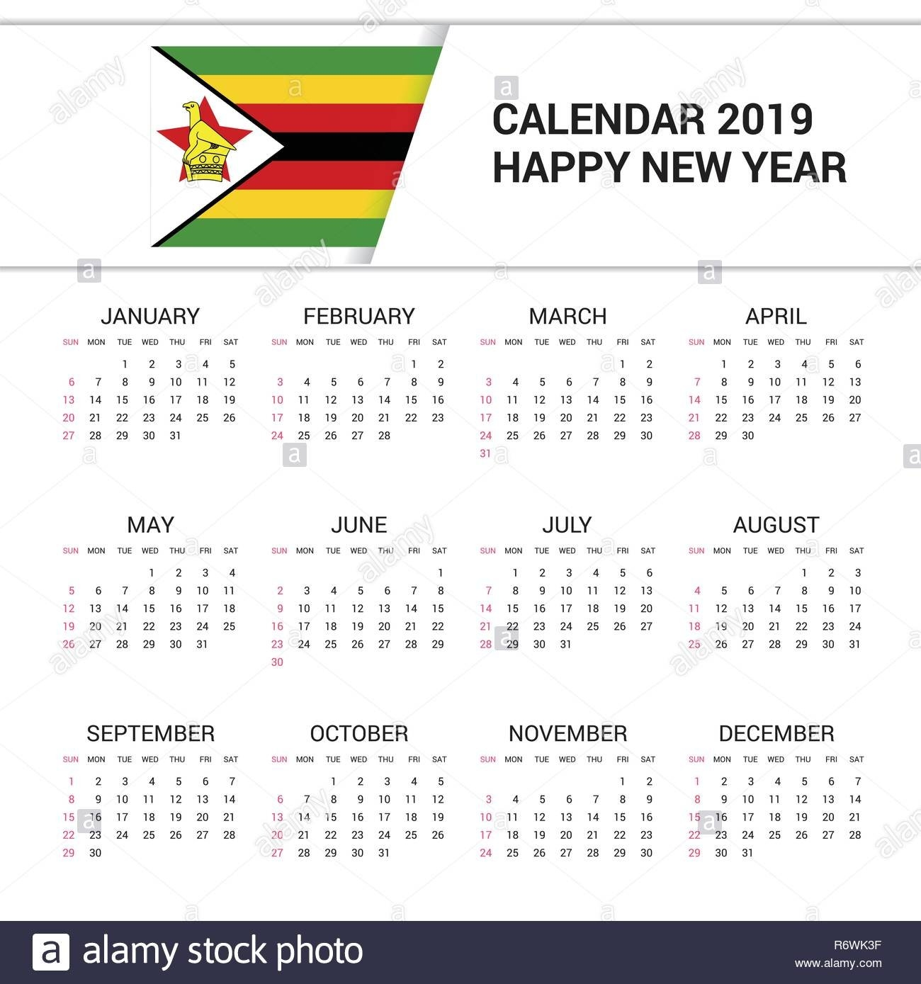 April 18 Cut Out Stock Images & Pictures - Alamy School Calendar 2019 Zimbabwe
