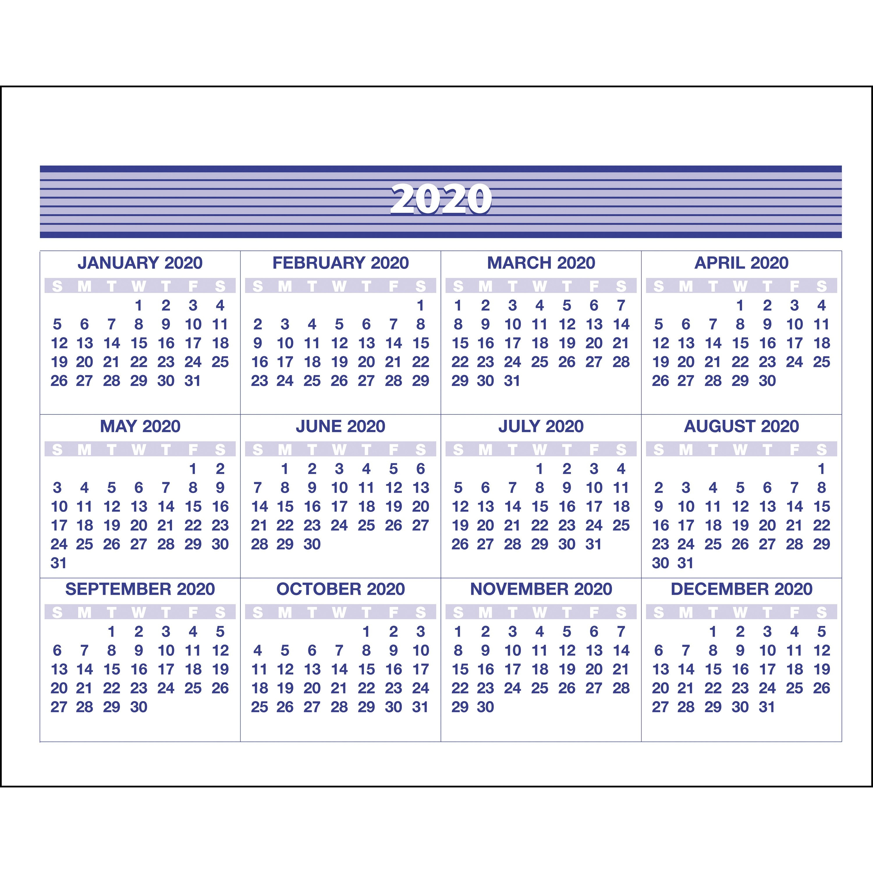 At-A-Glance Flip-A-Week Desk Calendar Refill - Yes - Weekly - 1 Year Calendar Week 50 2019