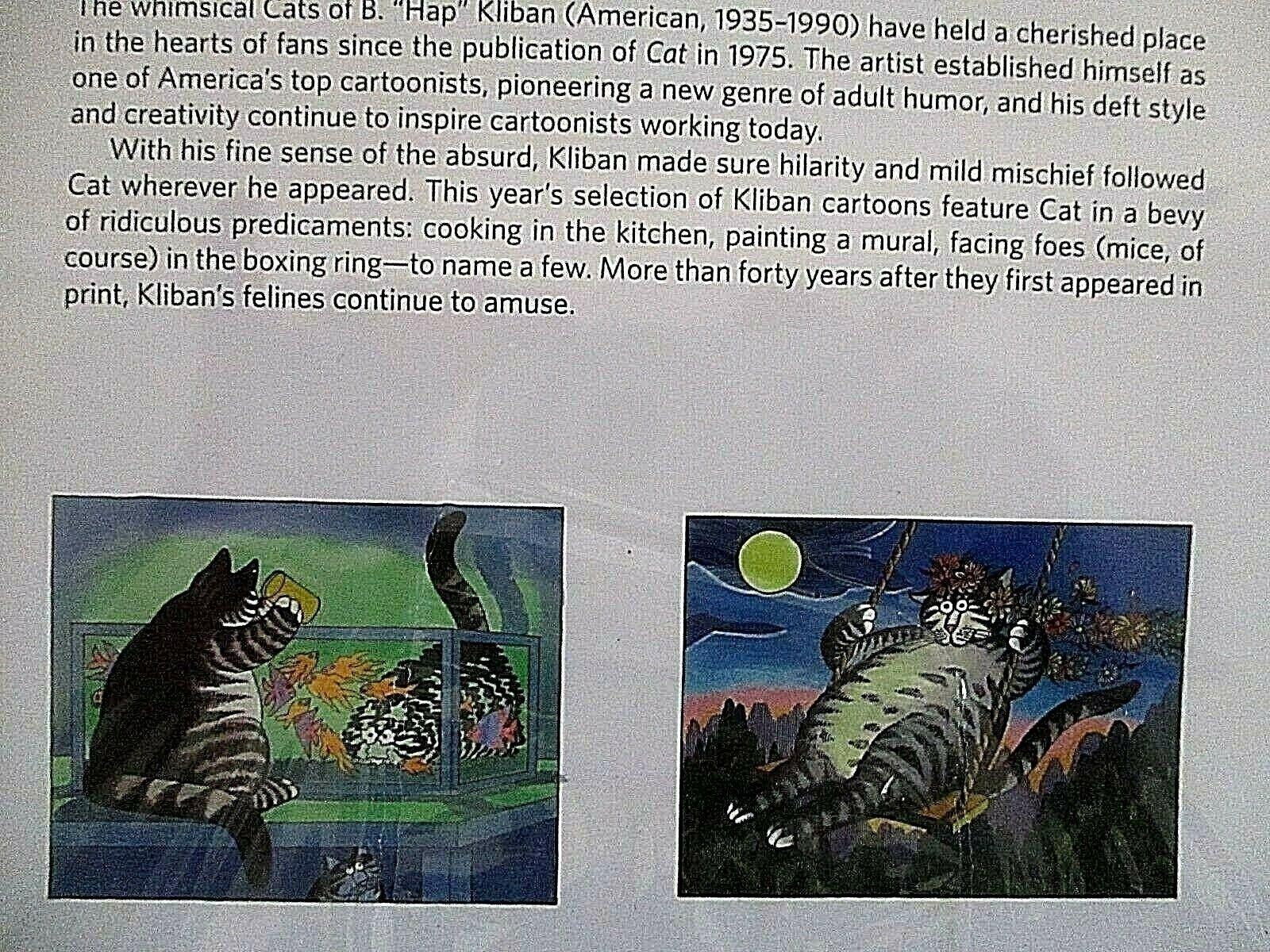 B. Kliban - Catcalendar 2019 Cat Calendar | Ebay B Kliban Cat Calendar 2019