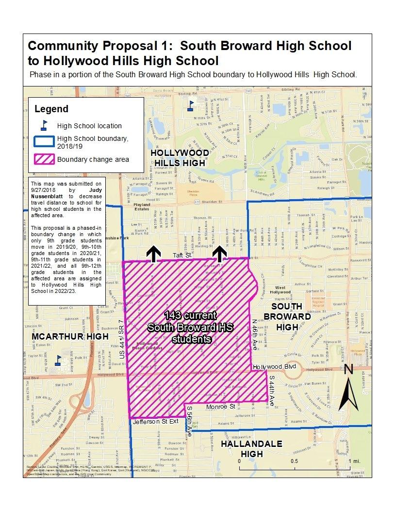 Boundary Process / 2019/20 Boundary Proposal C-1 School Calendar 2019-20 Broward