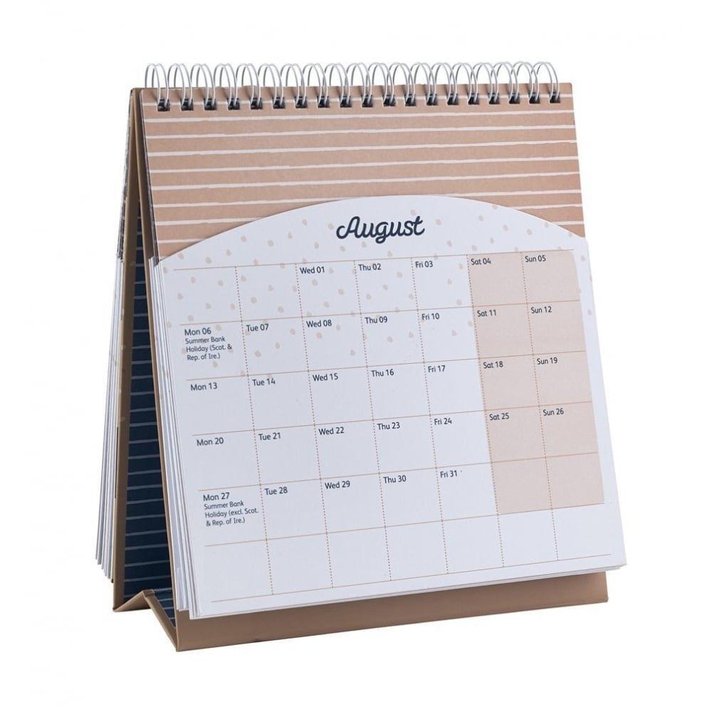 Busy B Desktop Calendar 2018 | Mollie And Fred 2017 Calendars Busy B Desktop Calendar 2019