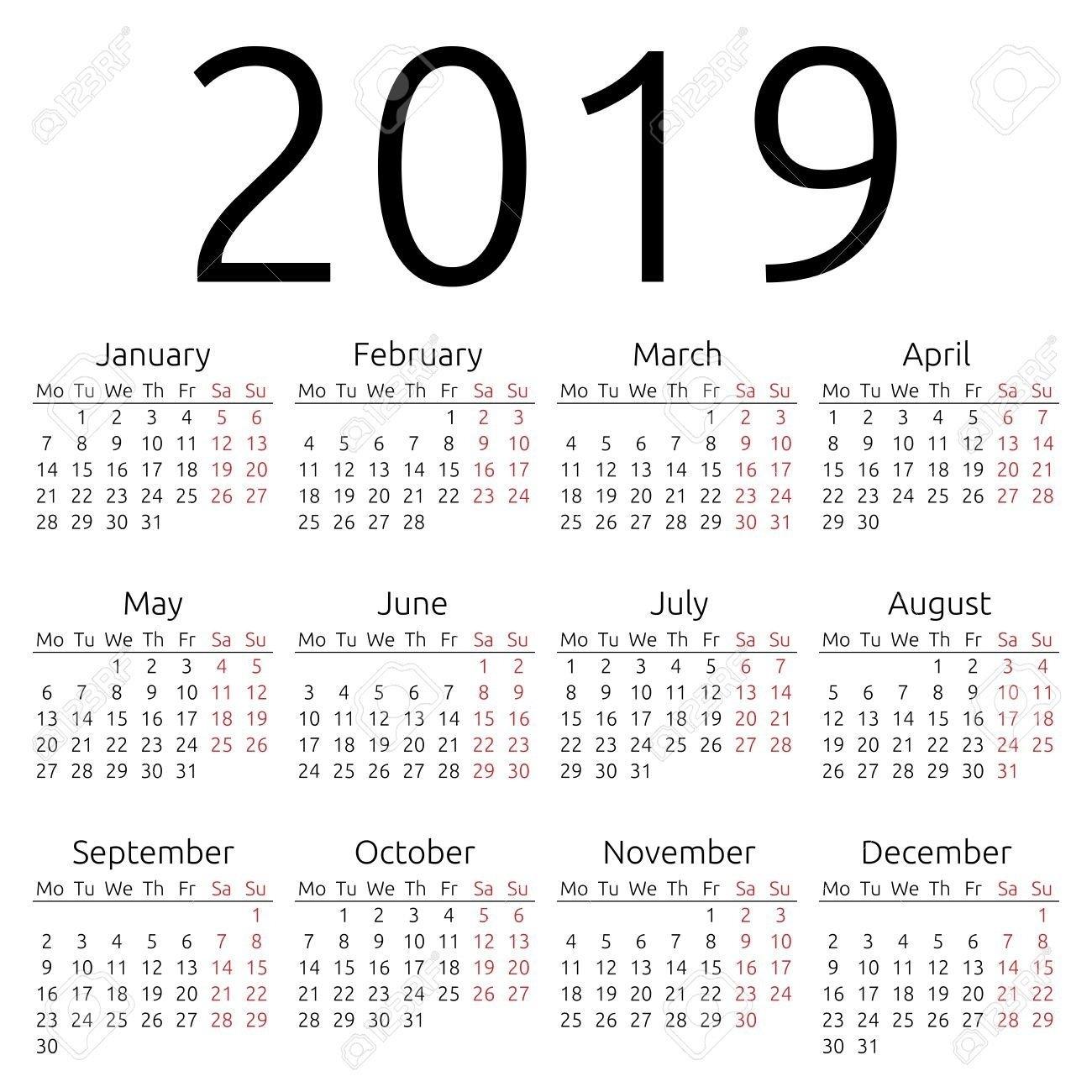 Calendar 2019 Hong Kong | Free Coloring Pages Calendar 2019 Hong Kong